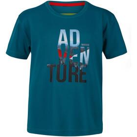 Regatta Alvarado V Camiseta Niños, Azul petróleo